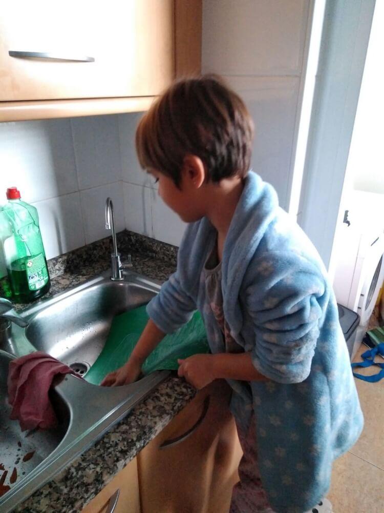 cocinar con niños 2