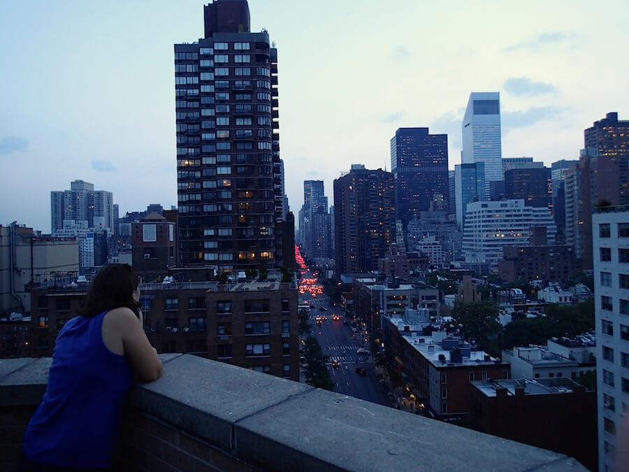 intercambio en Manhattan, NYC